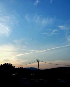 神秘十字雲